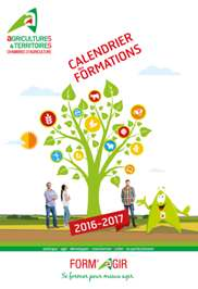 Calendrier des formations 2016/2017
