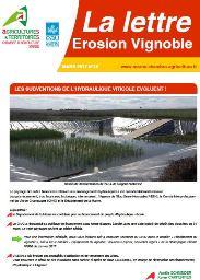 Lettre érosion vignoble n°18 - mars 2017